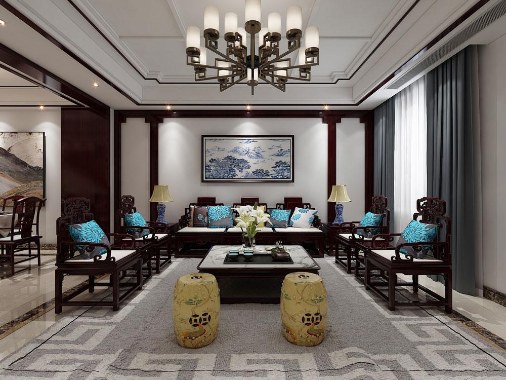 绍兴装潢设计,翡翠园,高端大气风格,室内设计