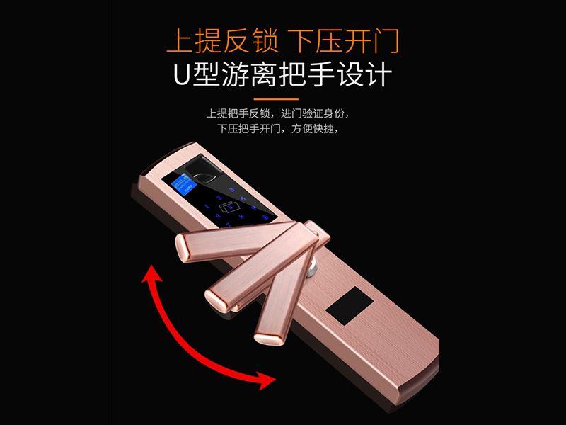 广东五合一指纹锁供应,互联网智能门锁系统解决方案