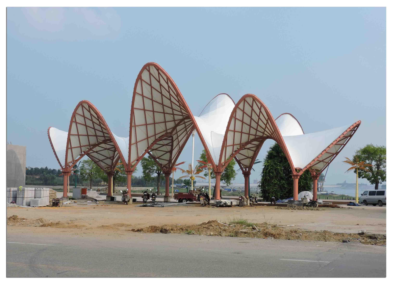 陕西山西/甘肃宁夏/青海西藏/新疆内蒙收费站台车棚索膜结构