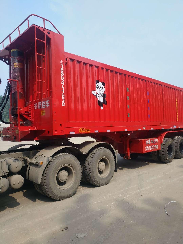 江西萍乡9米自卸半挂车厂家,13米水冷车桥自卸半挂车