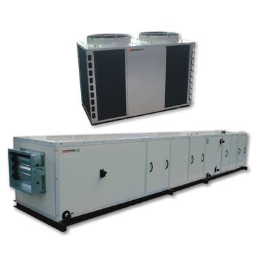 便利的風冷熱泵屋頂空調機組-空調機定制廠家哪家好