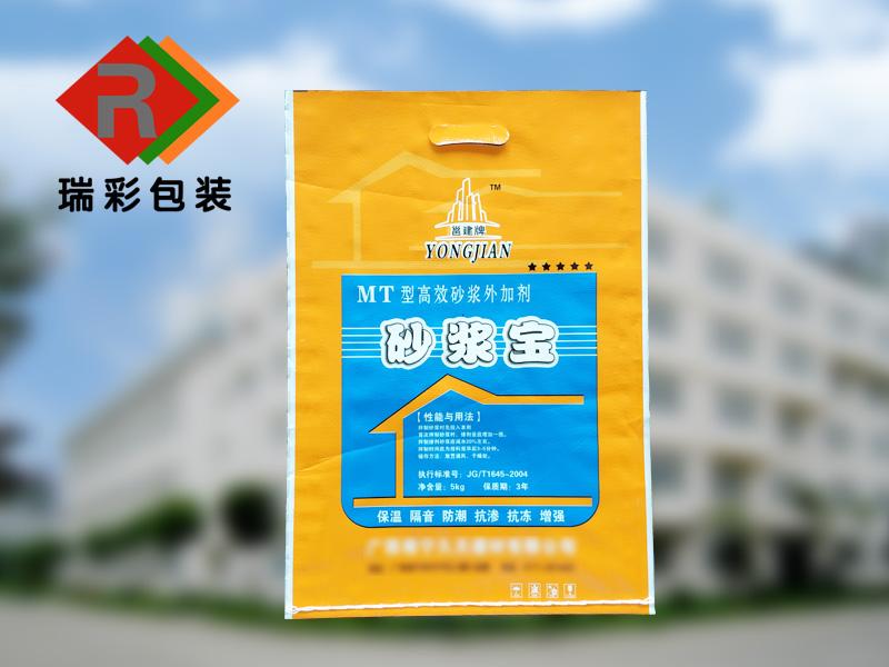 温州腻子粉编织袋,瓷砖胶编织袋