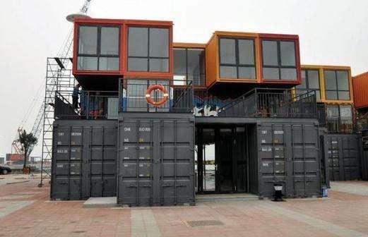 【岽朗钢结构】烟台商用集装箱 烟台钢结构工程