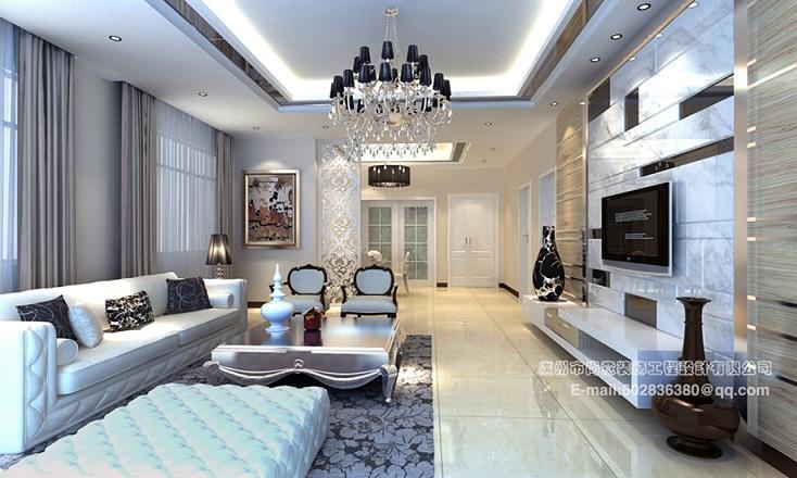 天河广州尚意装饰简欧风|信誉好的家装工装家庭装修是哪家