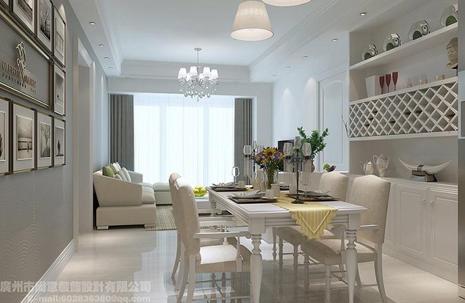广东知名的家装工装家庭装修 广州尚意装饰简欧风案例