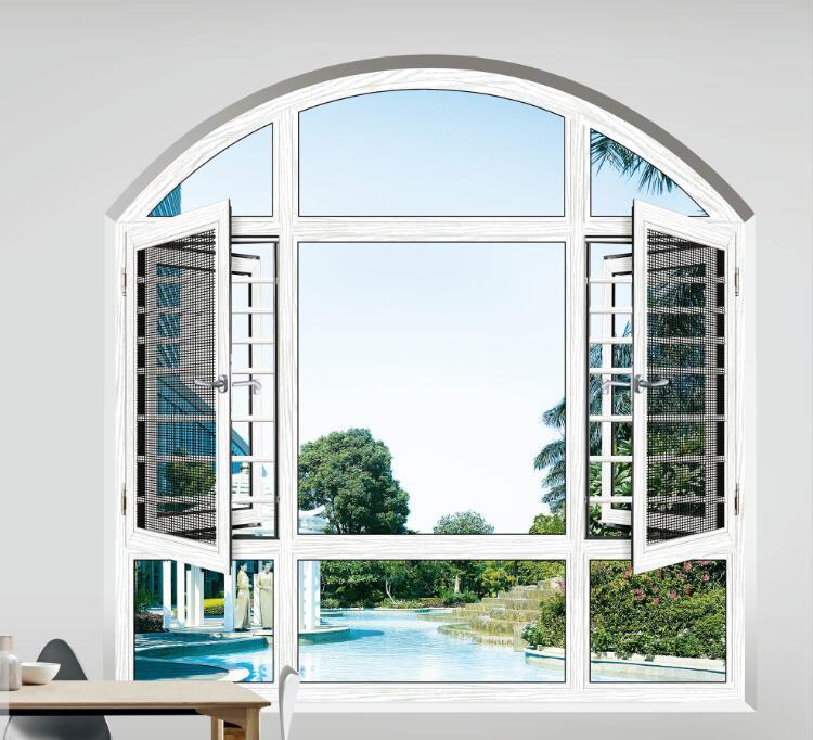 平开窗代理|康盈门窗质量好的断桥窗纱一体平开窗供应