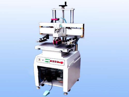 小型气动平面网版印刷机