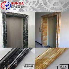 仿大理石电梯门套仿大理石电梯装饰门套厂家润佳建材