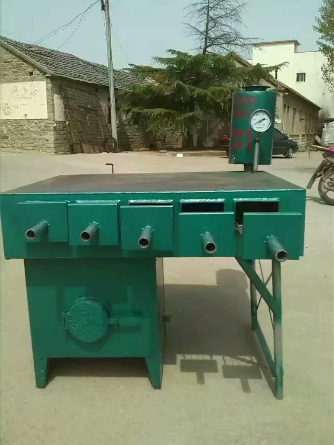 导热油锅饼炉厂家就找蒙阴县旧寨乡津源节能炉具-方形火烧煎饼烤饼炉厂家