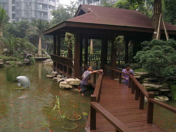 供应上海市优质的防腐木