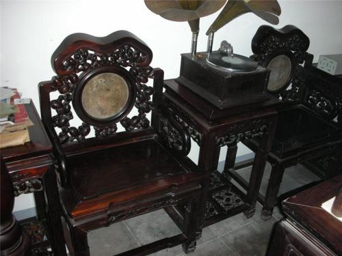 杨浦区老红木家具回收