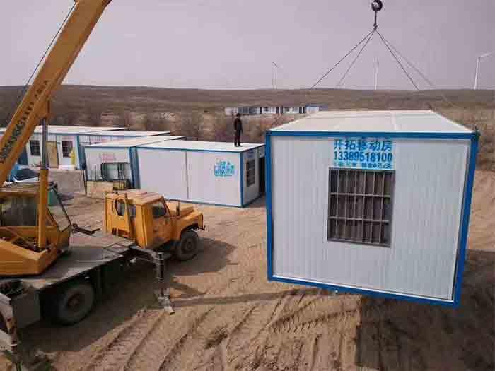 宁夏集装箱会议室-供应质量好的银川住人集装箱厂房