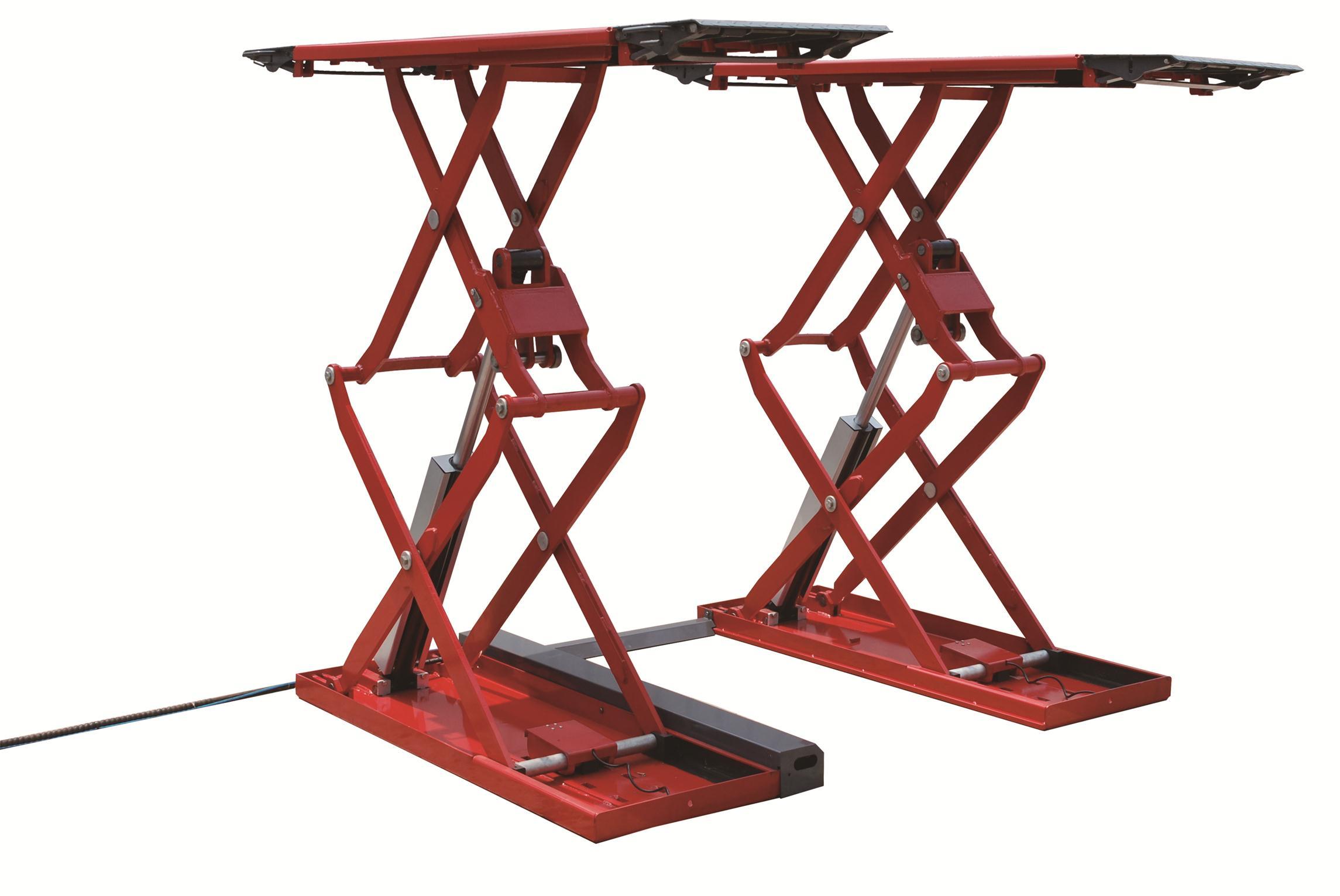 举升机厂家——山东实惠的超薄小剪举升机哪里有供应