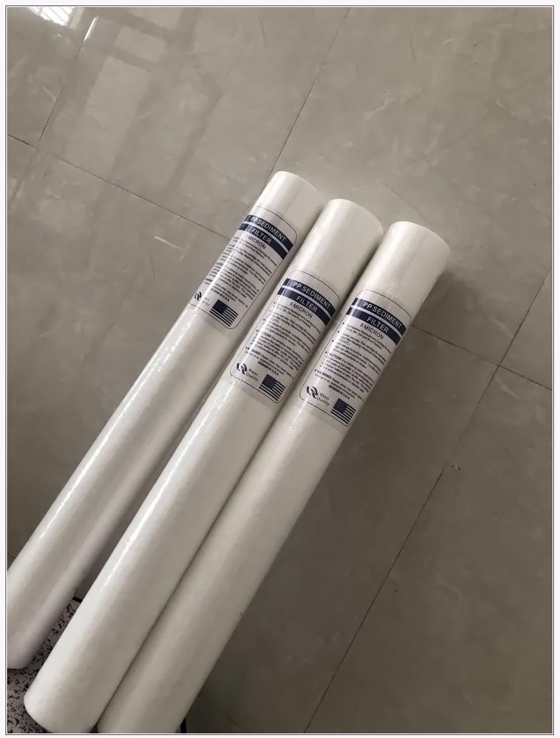 厂家直销水处理PP棉滤芯|价格优惠质量保证|水视界水处理设备