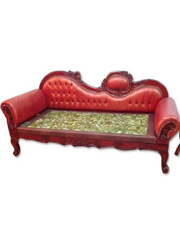 新型岫岩玉石床-怎么买质量硬的实木玉石贵妃椅呢
