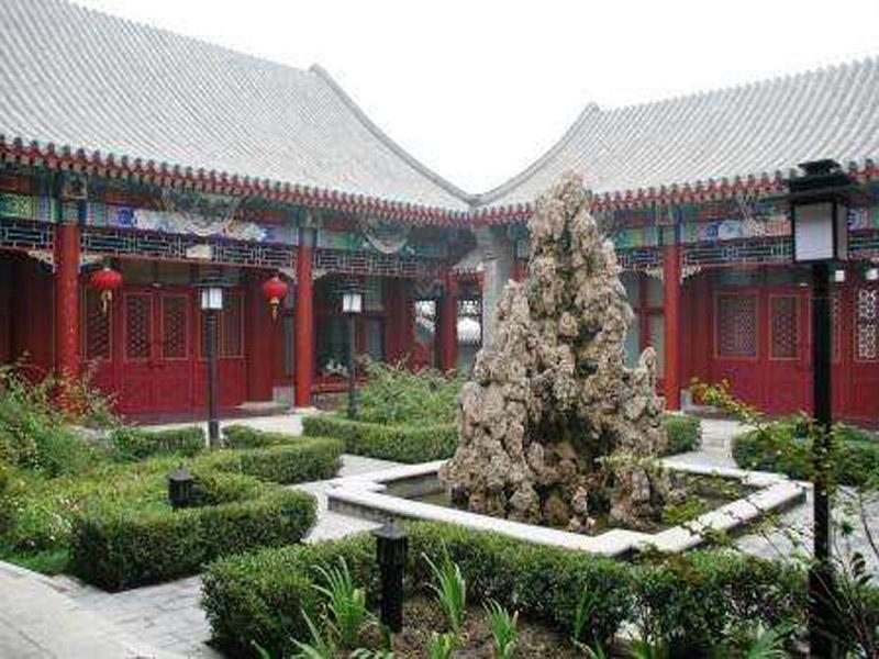 益辰园林优质的四合院新品上市――庙宇供应