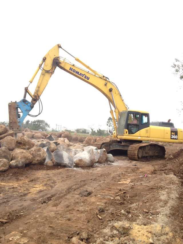 文昌挖掘机租赁工厂-哪儿有专业的海南U型钢板桩工程