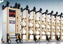 為您推薦金陽朝發門業品質好的電動伸縮門|濮陽電動伸縮門加工