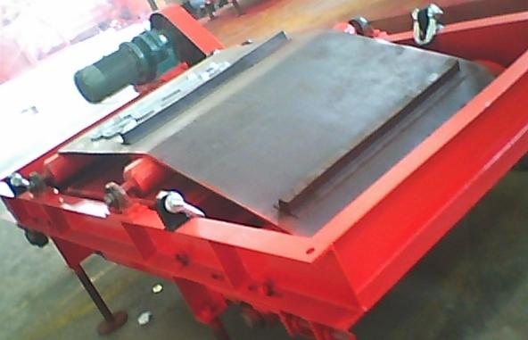 岳阳除铁器就选晨龙电磁机械-悬挂自卸式永磁除铁器