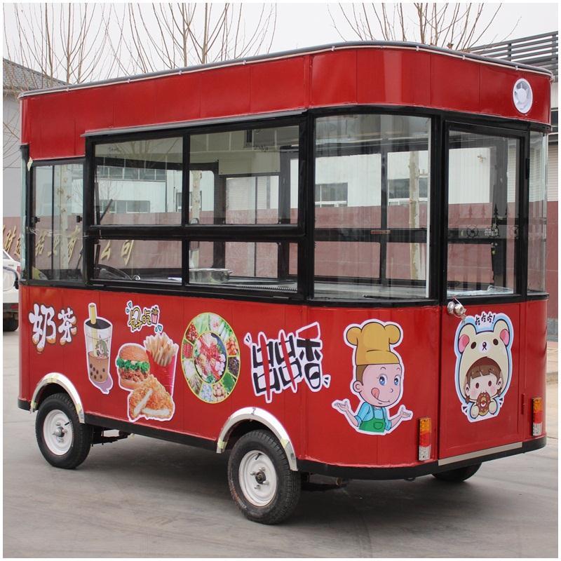 质量好的美食餐车报价,好用的多功能电动餐车厂家