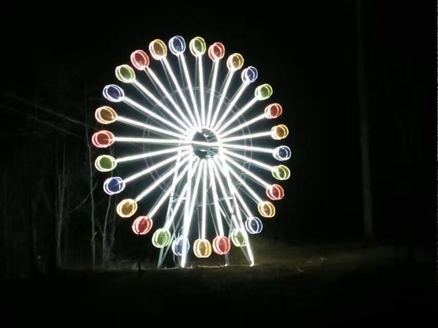 大型灯光节-灯光节厂家-童记彩灯