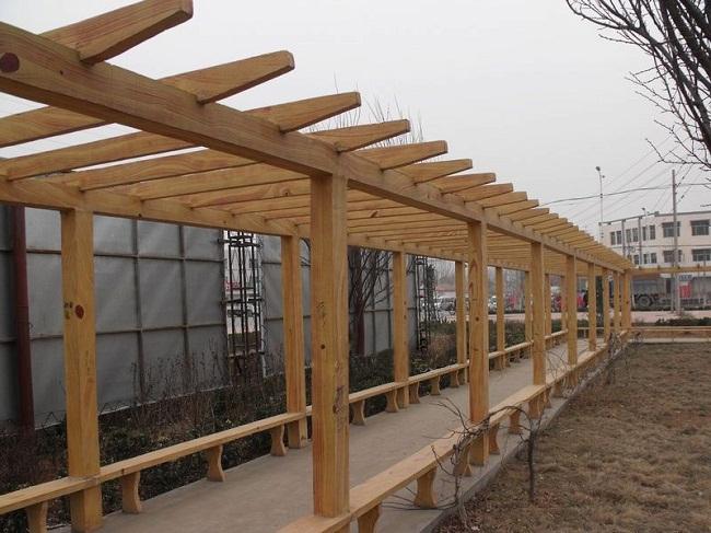 仿木栏杆制作,专业的仿木廊架供应