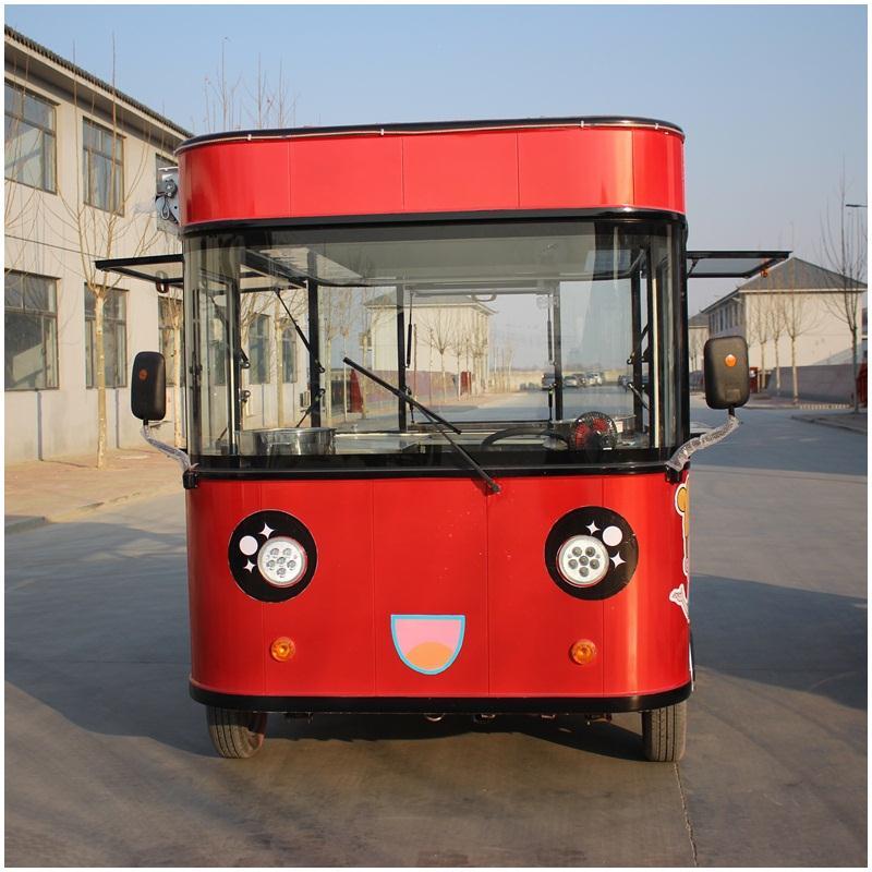 德州質量良好的電動中巴餐車批售,北京電動中巴餐車