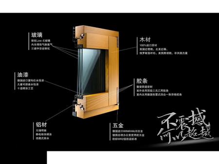 丹东铝包木门窗厂家-新款铝包木门窗哪里买