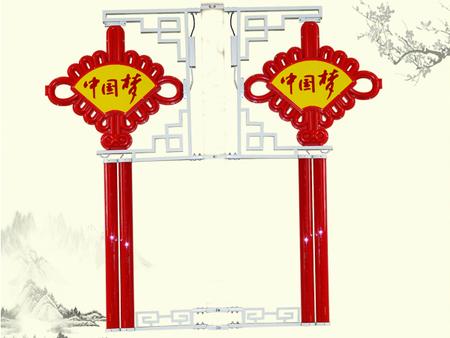 黑龙江LED中国结厂家-辽宁嘉上灯具LED中国结厂家