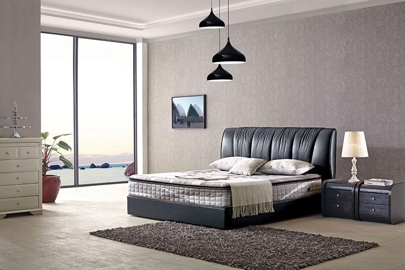 美式时尚休闲软床_佛山品质好的时尚休闲软床-供应