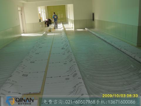 要买新型塑胶地板,当选秦岸环保科技_羽毛球场铺装