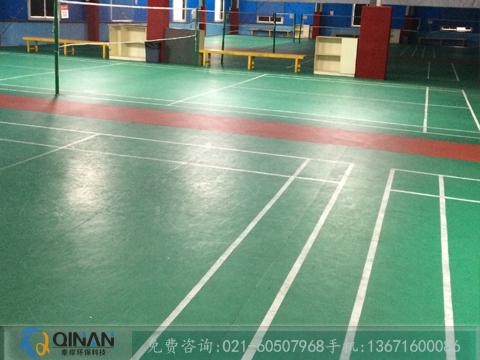 性价比高的塑胶地板尽在秦岸环保科技_羽毛球运动地板厂家