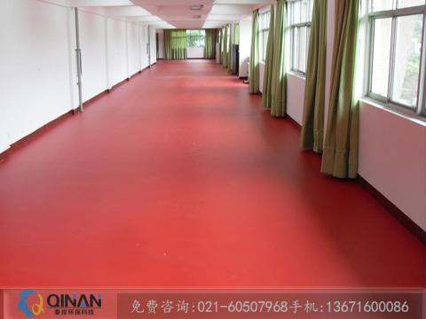 上海具有口碑的塑胶地板供应商——上海羽毛球场施工