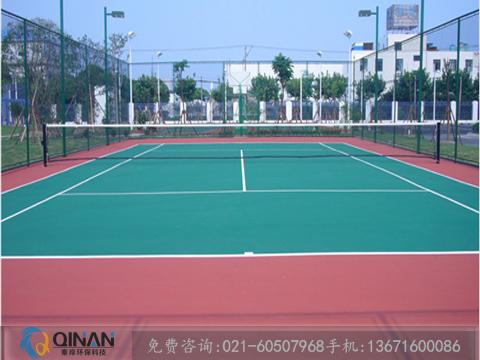 上海特色的篮球场塑胶地板-篮球场硅pu