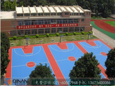 物超所值的篮球场塑胶地板出售-篮球场地坪铺设公司