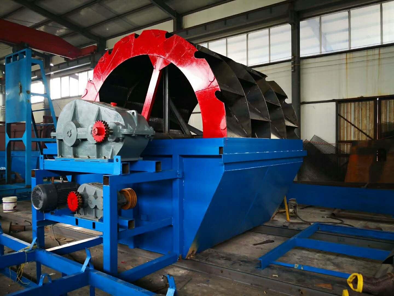 轮式洗砂机型号_北京市可信赖的水洗轮供应商是哪家