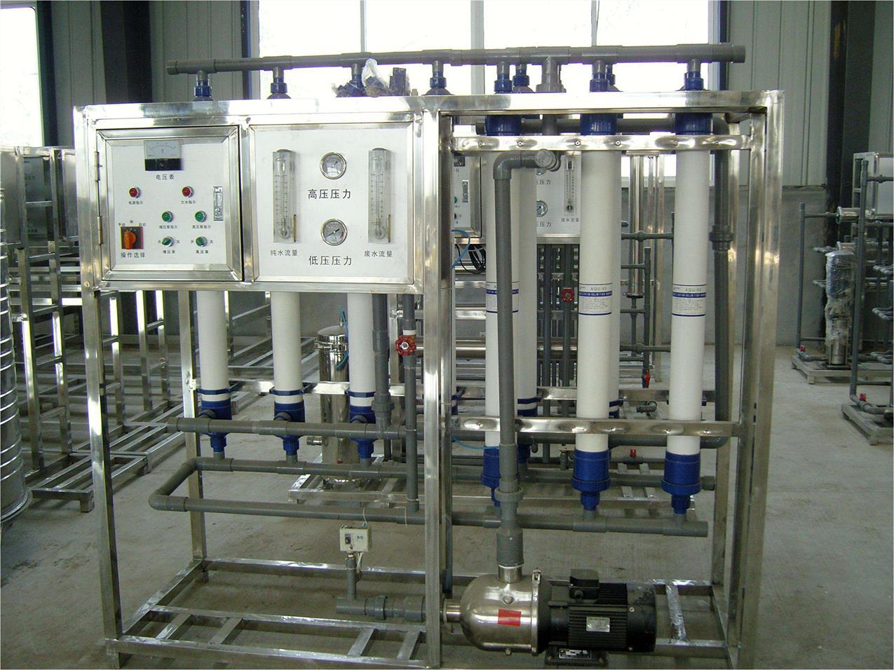 超滤水处理设备制造商|山泉水提纯净水设备|纯净水设备