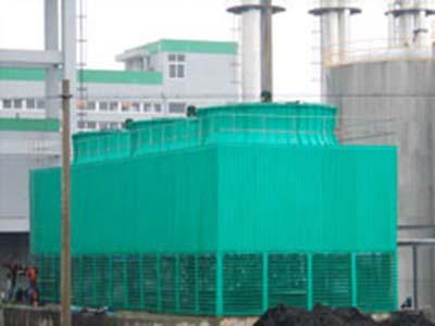 方型逆流式玻璃钢冷却塔