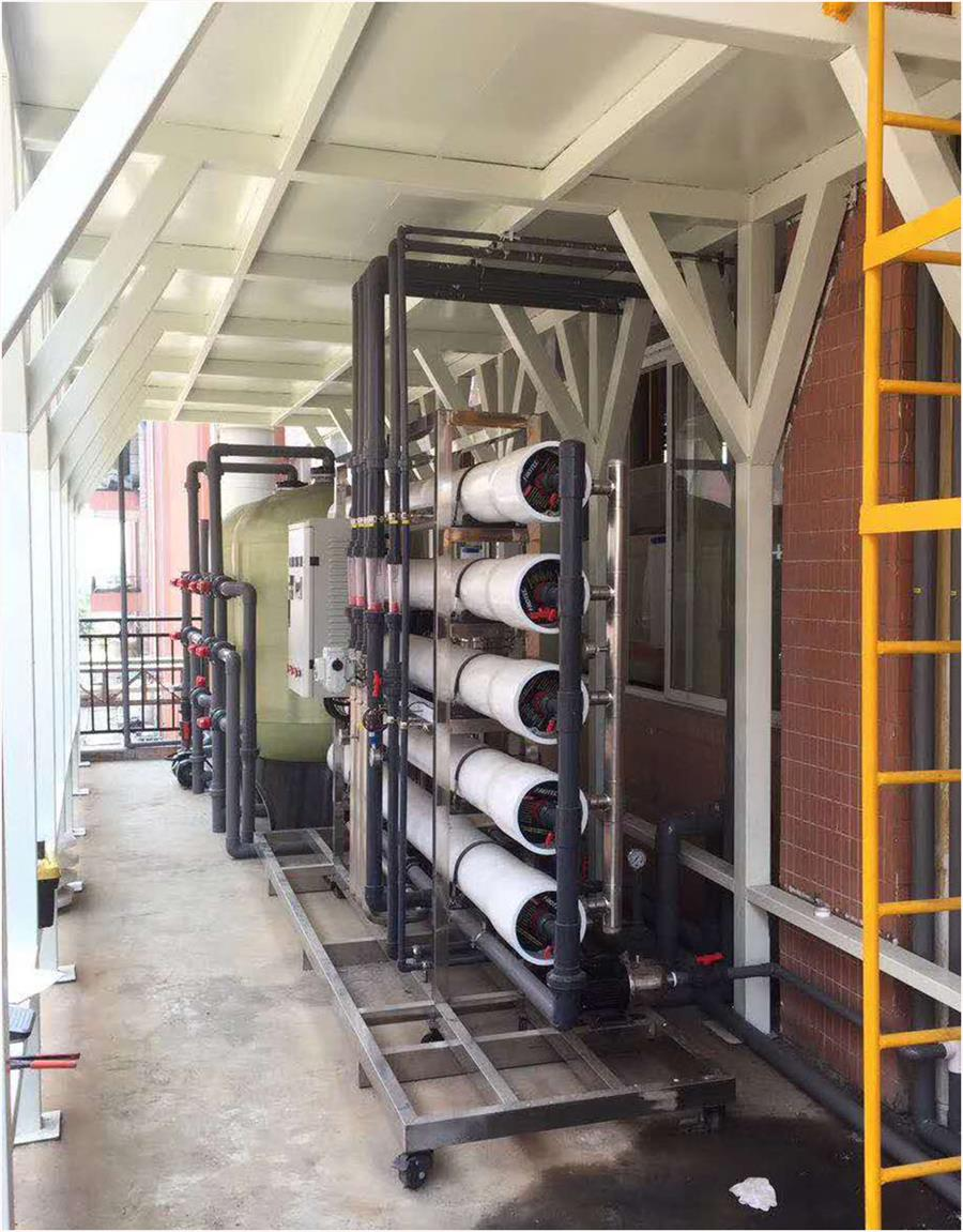 工业用净水处理设备|定制大型反渗透设备|优选东莞水视界