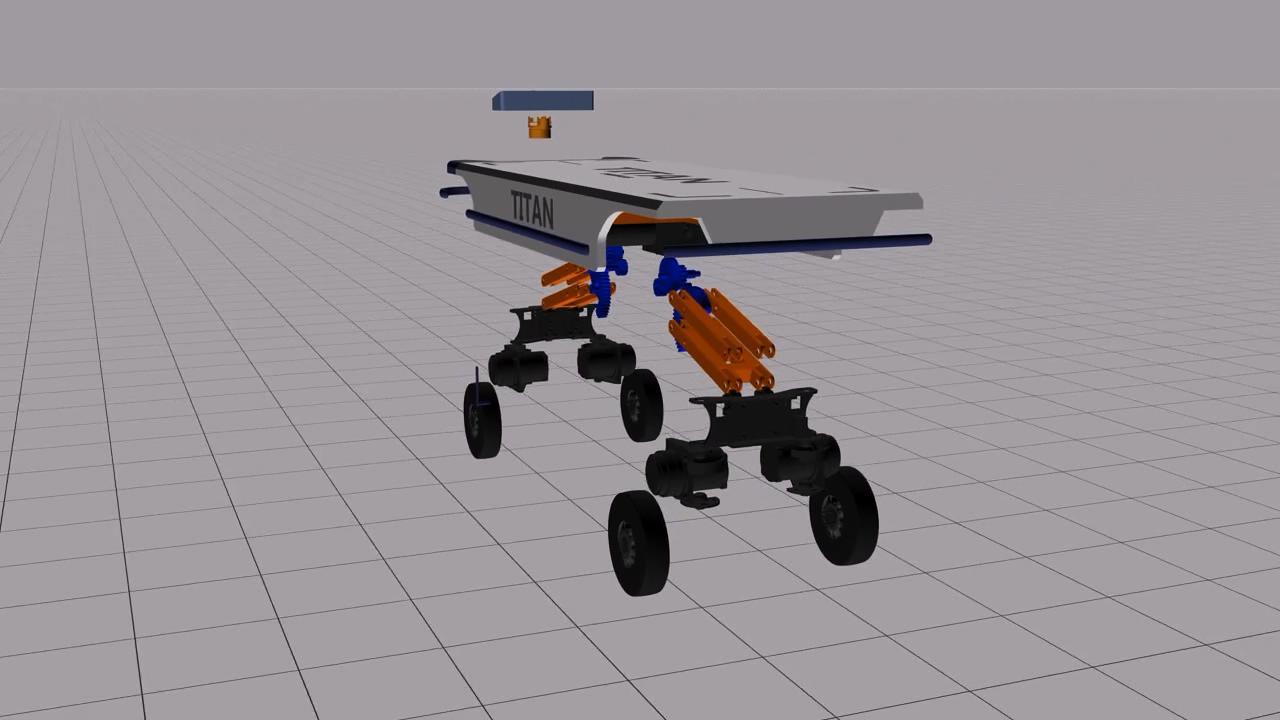 智能仓储物流系统三维演示动画智能工厂三维动画