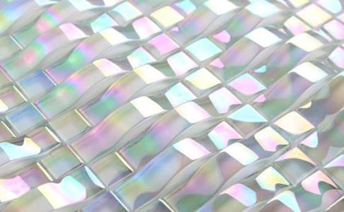 白色冰裂水晶玻璃瓷砖