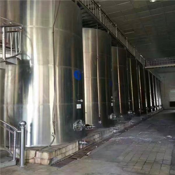 濟寧哪里有賣優惠的二手儲罐,二手4000L不銹鋼攪拌罐