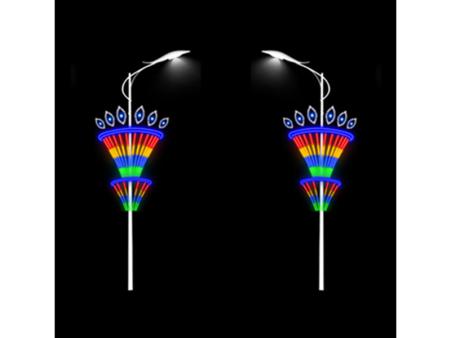 鸡西LED灯杆造型供应商——销量好的LED灯杆造型价格行情