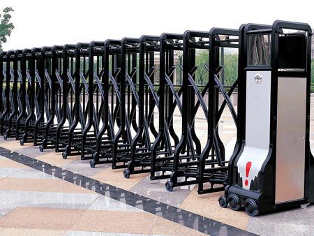 通和门窗供应厂家直销的伸缩门-铝合金伸缩门生产商