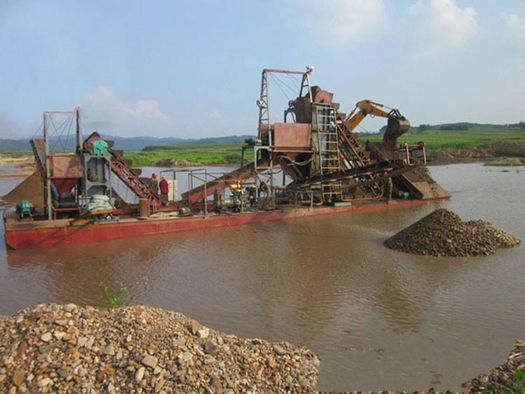 挖沙船廠家-大量供應耐用的挖沙船