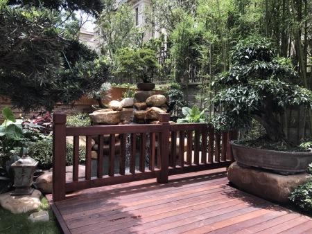 优良的重庆私家花园设计当属久意园林-北碚别墅花园水景设计