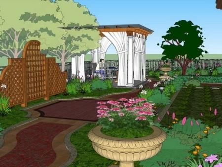 找重庆私家花园设计就找久意园林_效率高 沙坪坝高档别墅花园设计