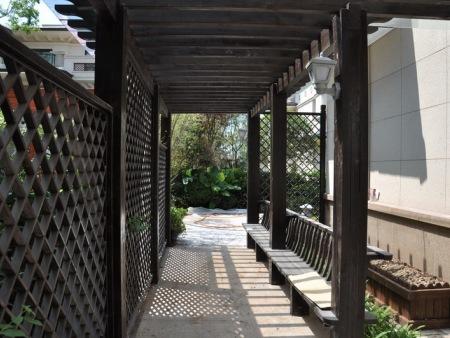 重庆私家花园设计_久意园林更有保障 巴南别墅欧式花园设计