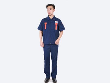 厂服短袖定制_工作服短袖定制