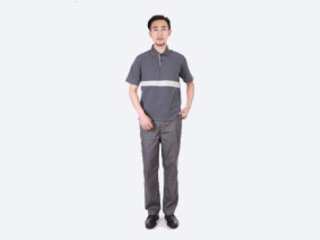 优良的工作服当选升澜服饰,洛阳劳保短袖衬衫